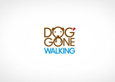 DOG GONE WALKING / LOGO / IDENTITY
