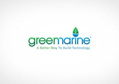 GREEN MARINE / LOGO / IDENTITY