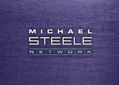 MICHAEL STEELE NETWORK / LOGO / IDENTITY