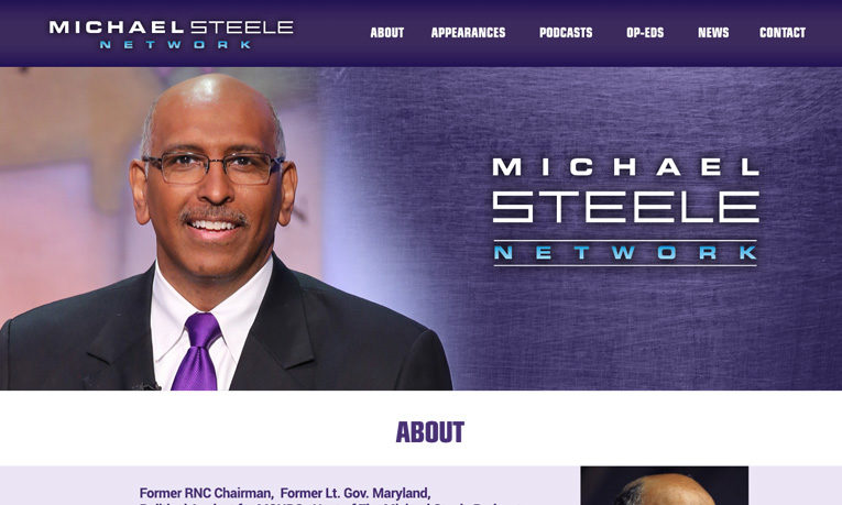 Uncomn Creative launches Michael Steele Network website