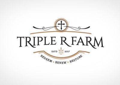 TRIPLE R FARM / LOGO / IDENTITY