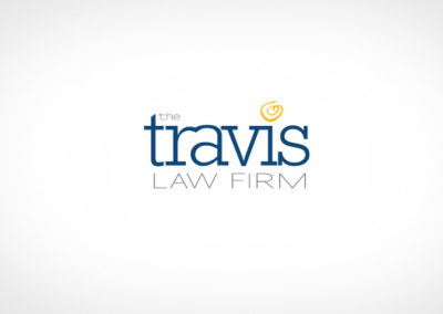 TRAVIS LAW FIRM / LOGO / IDENTITY