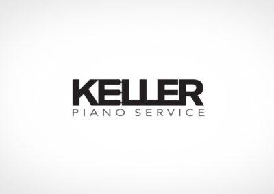KELLER PIANO SERVICE / LOGO / IDENTITY